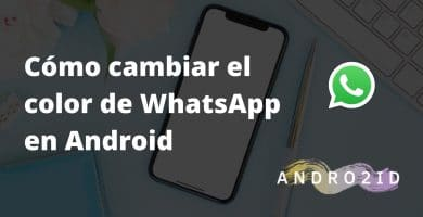 cambiar color de whatsapp