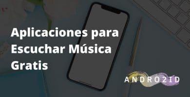 aplicaciones musica gratis