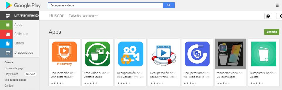 app para recuperar videos borrados