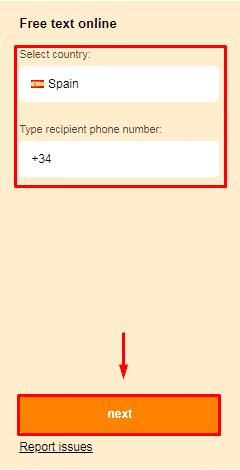 enviar sms anónimo