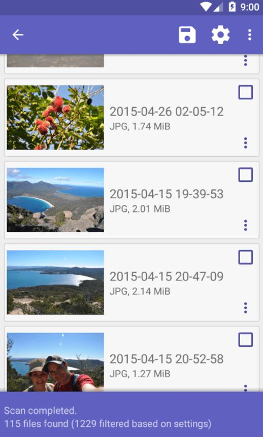 recuperar archivos borrados android memoria interna