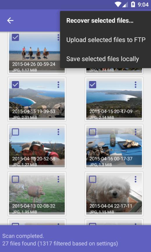 recuperar archivos borrados android almacenamiento interno