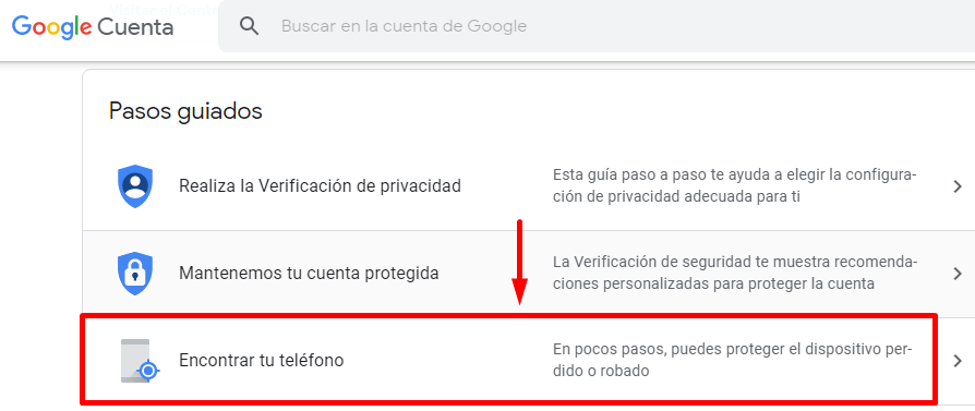 localizar movil apagado android gratis