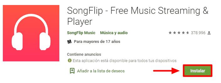 alternativa a spotify gratis offline